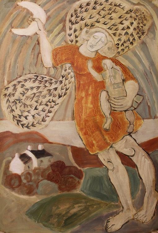 Ann Farley, Murmurations of starlings
