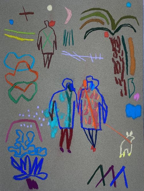 Becky Blair, Pastel drawing IV
