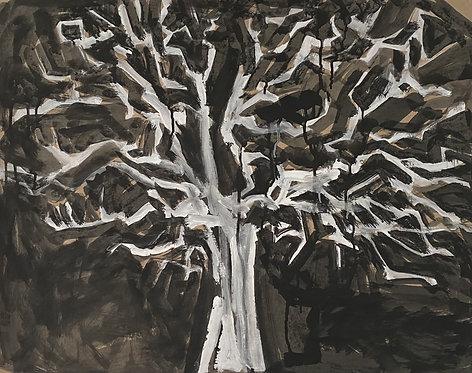 Lizbeth Holstein, Dead tree on black