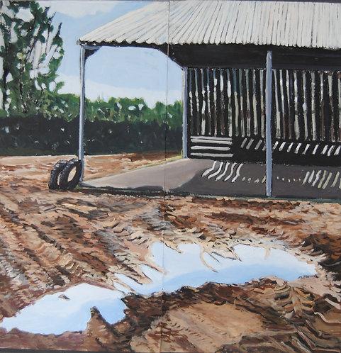 Lizbeth Holstein, Barn and mud