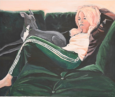 Lizbeth Holstein, Girl on sofa