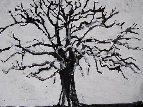 Lizbeth Holstein, Dead tree on white