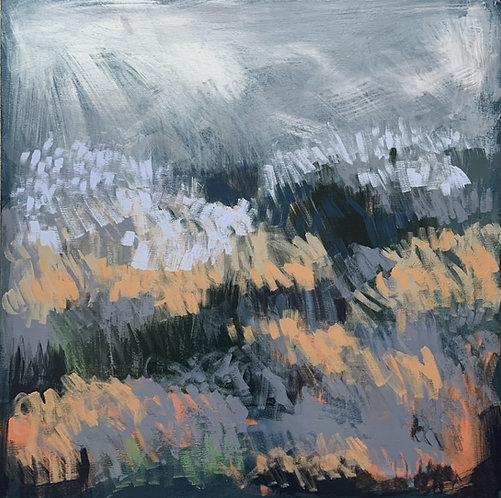 Claire Oxley, Field after downpour