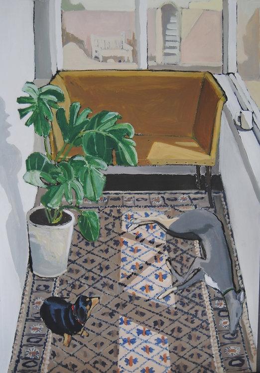 Lizbeth Holstein, The Sun Room