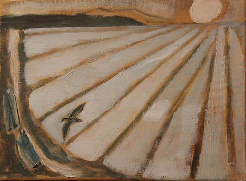 Ann Farley, Two figures by the sea