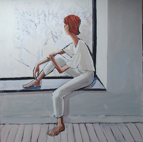 Lizbeth Holstein, Girl in the Window