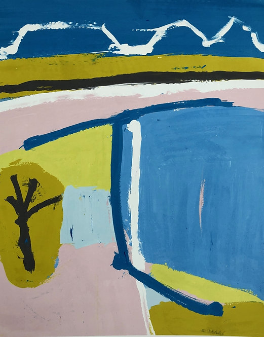 Iona Stern, Mountain blue