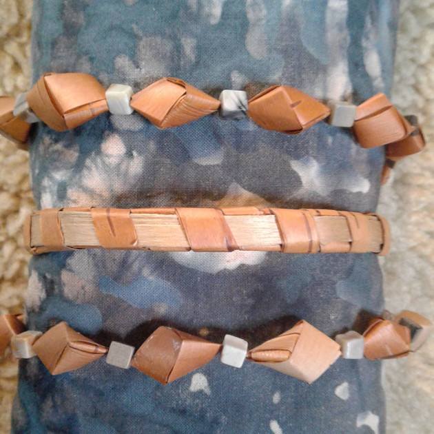 Birch Bark Jewlery