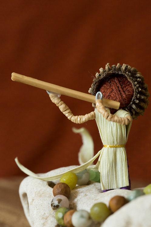 """""""Flautist"""" - Table Piece"""