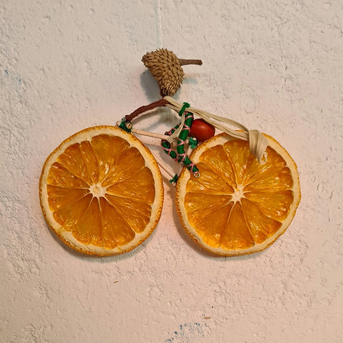 Thr Orange Bike