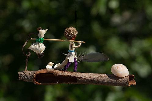"""""""The Traveler"""" -Ornament"""