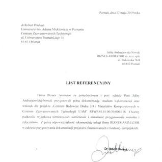 Referencje UAM