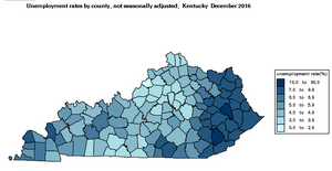 Unemployment Rate by County