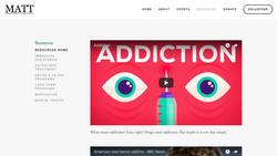 Web Design MATT HERRING Foundation