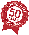 50+ Years Experience
