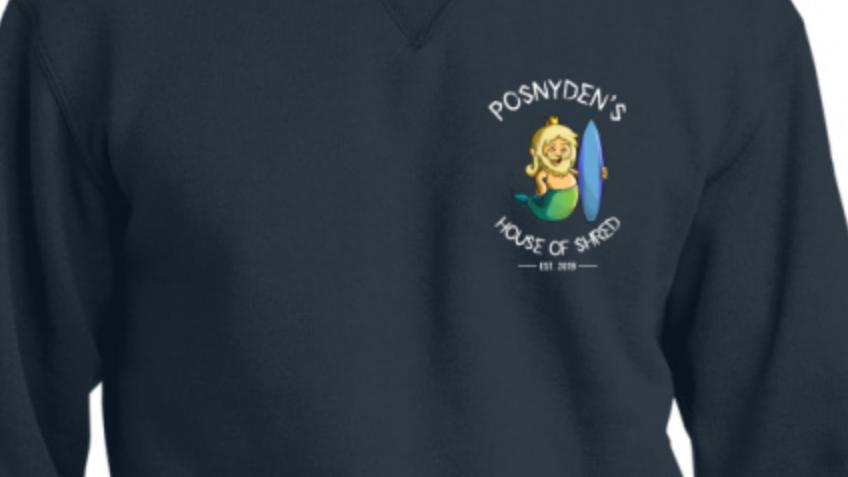 Heavy Posnyden Logo Crewneck Sweatshirt
