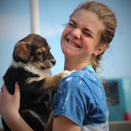 Phoebe Loves Puppies
