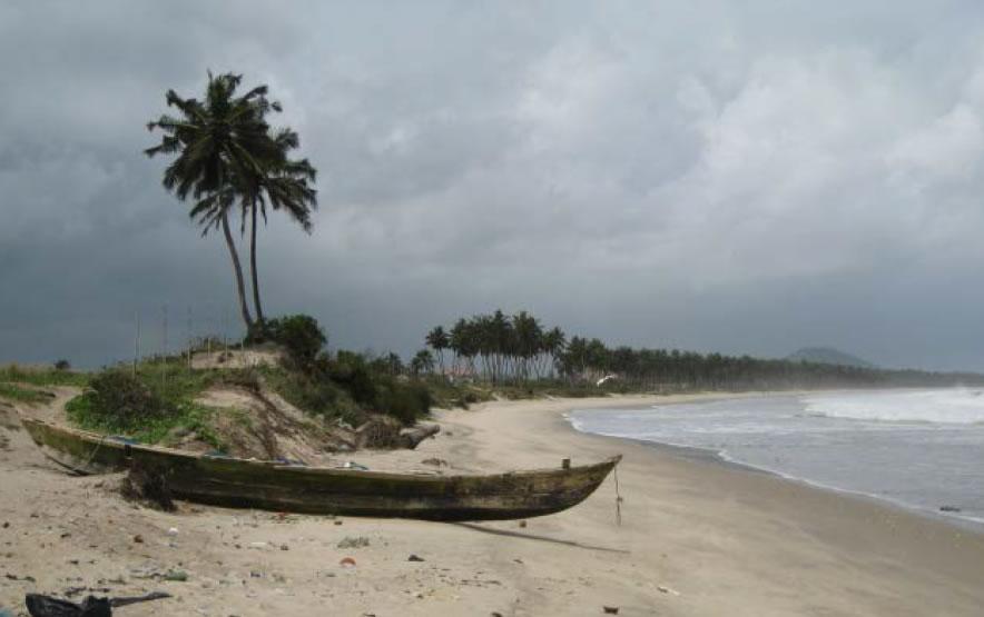 The coast at Apam
