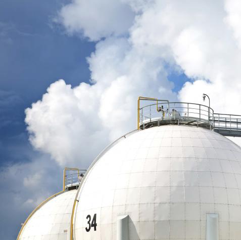 Gas Storage at FIFC Apam