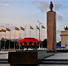 Ghana's Black Star Square and symbol of its independence
