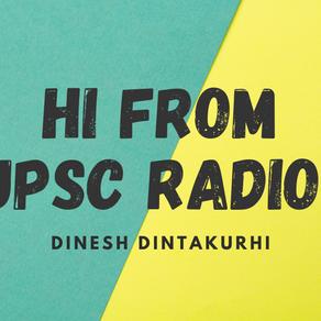 UPSC Podcast – First Telugu Education Podcast Show