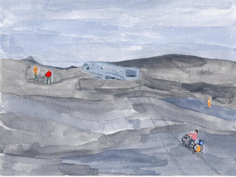Wreck C-47 Skytrain 飛機殘骸