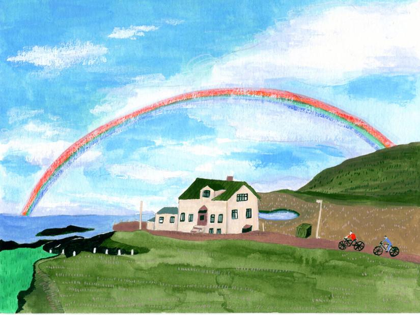 Iceland A to Z : Rainbow