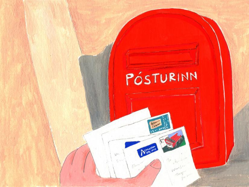 Iceland A to Z : Posturinn  郵局