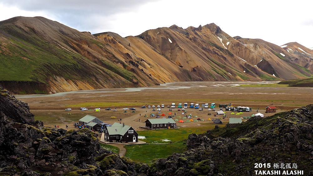 Landmannalaugar 露營區