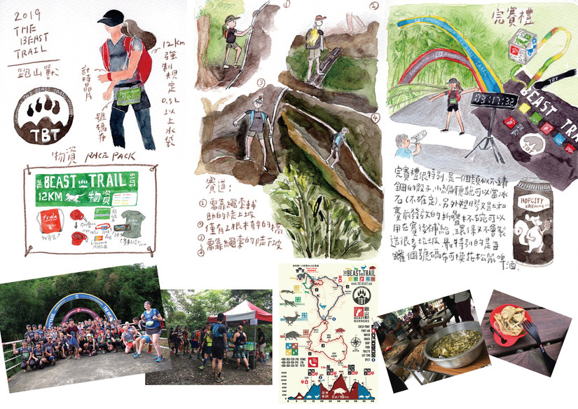 The Beast Trail 山徑越野跑-台北山峽