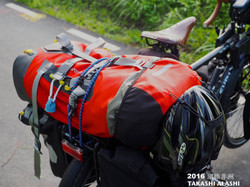 ORTLIEB的防水背包,要來去爬七頂峰之一,非洲的吉力馬札羅山。