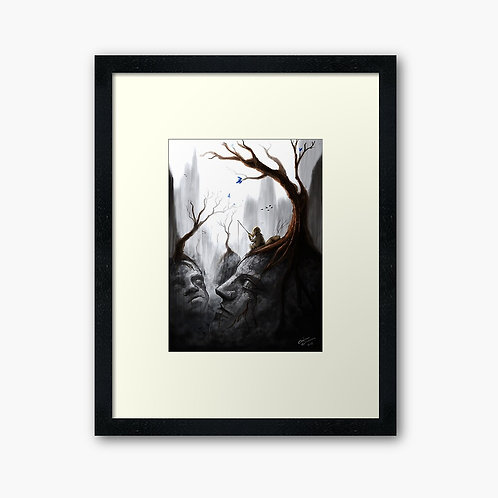 """Valley of Stone"" Framed Print"