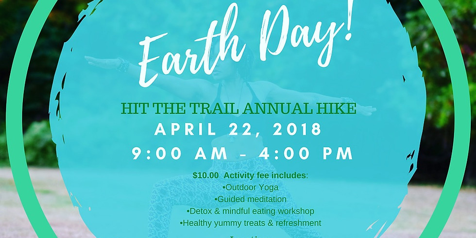Hit The Trail - Earth Day Celebration