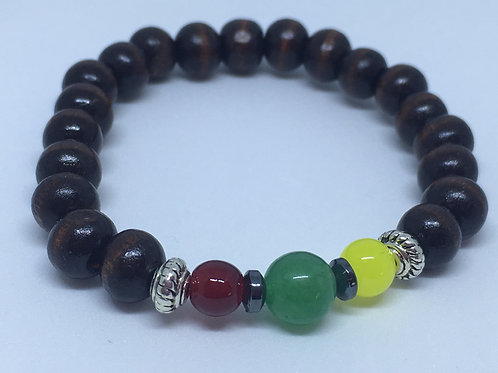 Wear Your Vibe - Rasta Crystal Expression