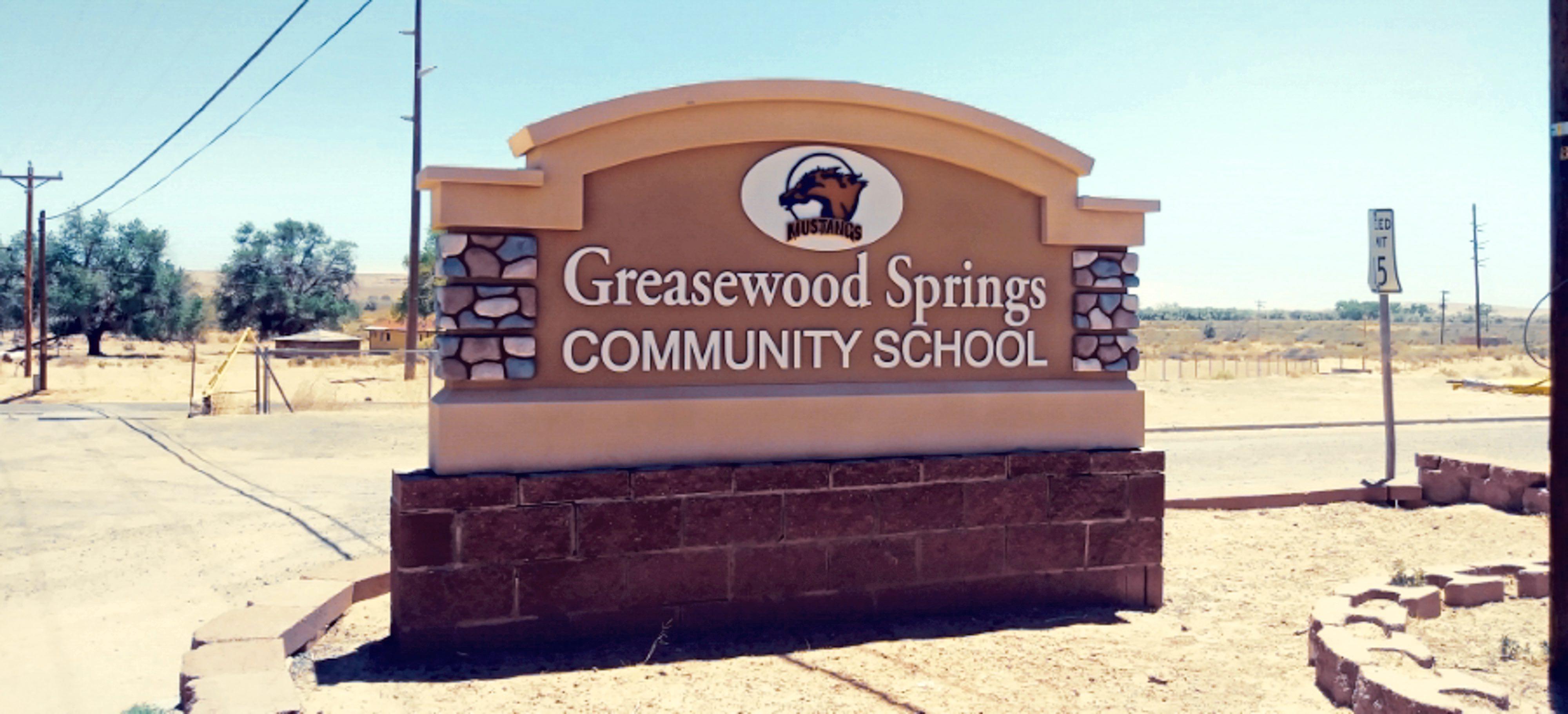 Greasewood Springs Community School