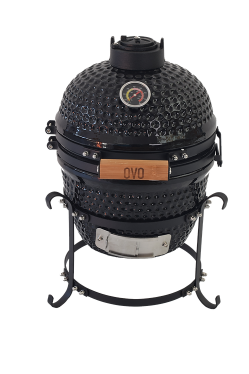 Charcoal Black Ceramic OVO (Small)