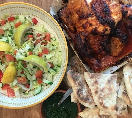 'No takeaway' whole Tandoori chicken