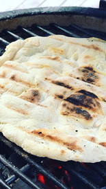 Charcoal Grilled Flatbreads