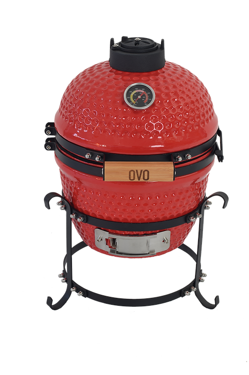 Hot Red Ceramic OVO (Small)