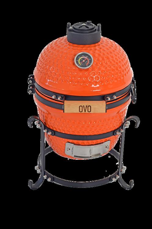 Ember Orange Ceramic OVO (Small)