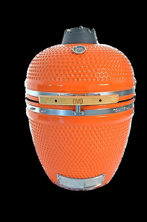 Ember Orange Ceramic OVO (Large)