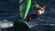 Windsurfing mum