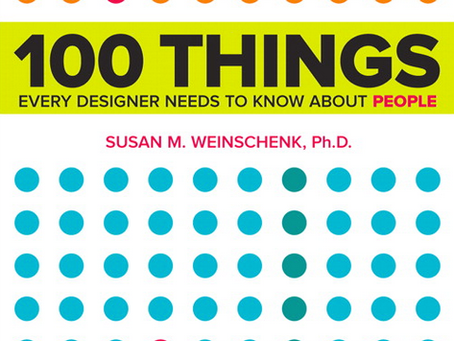 UX Book Club: 100 Things Every Designer Should Know About People