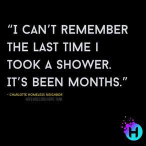 """I Can't Remember The Last Time I Took a Shower"""