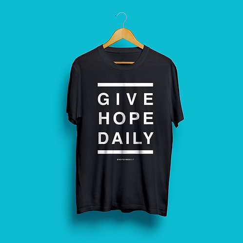 Give Hope Daily - Black & White