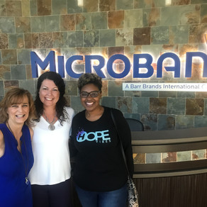 Microban® does a creative sock drive in Colorado.