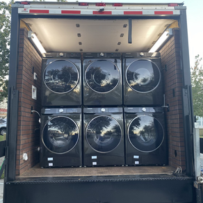 Washers and Dryers are in!!!!