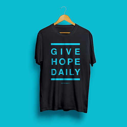 Give Hope Daily - Black & Blue