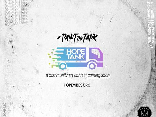 #PaintTheTank ... Coming Soon