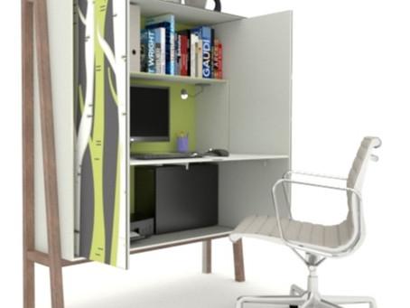 Cómo crear un espacio de trabajo en casa.